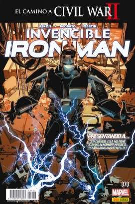 Invencible Iron Man 70 (Panini)