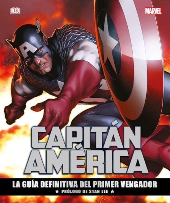 Capitán América: La guía definitiva del primer Vengador (DK)