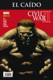 Civil War II: El Caído (Panini)