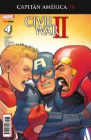 Rogers - Wilson: Capitán América 75 (4) (Panini)