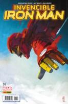 Invencible Iron Man 74 (Panini)