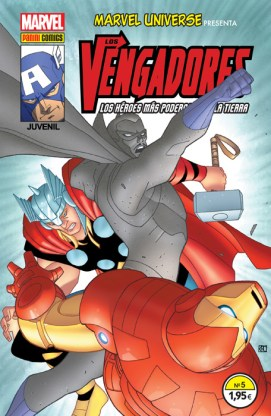 Marvel Universe Presenta 5 (Panini)
