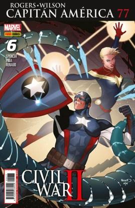 Rogers - Wilson: Capitán América 77 (6) (Panini)