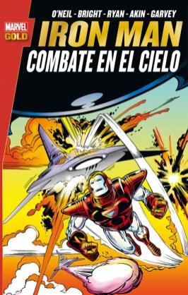 Marvel Gold. Iron Man: Combate en el cielo (Panini)