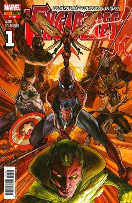 Vengadores 78 (1) (Portada Alternativa) (Panini)