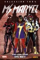 100% Marvel. Ms. Marvel 5 (Panini)