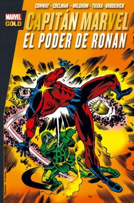 Marvel Gold. Capitán Marvel: El Poder de Ronan (Panini)