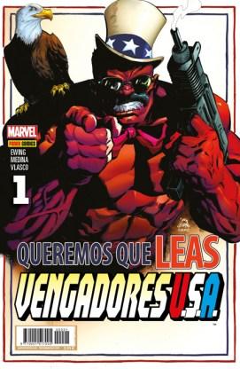 Vengadores USA 1 (Portada Alternativa) (Panini)