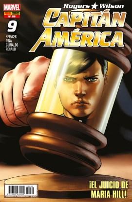 Rogers - Wilson: Capitán América 80 (9) (Panini)