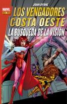 Marvel Gold. Los Vengadores Costa Oeste: La búsqueda de La Visión (Panini)