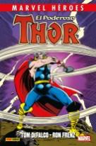 Marvel Héroes 83: El poderoso Thor de DeFalco y Frenz 1 (Panini)