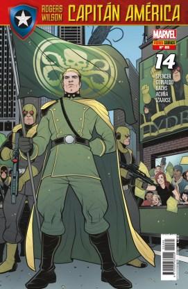 Rogers - Wilson: Capitán América 85 (14) (Panini)