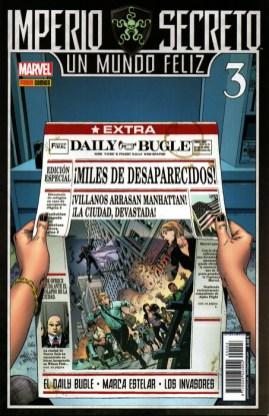 Imperio Secreto: Un Mundo Feliz 3. El Daily Bugle - Starbrand - Los Invasores