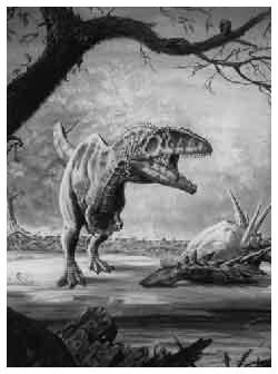 Yang diutamakan oleh ilmu ini adalah sejarah kehidupan di bumi, yang menunjukkan tahapan perkembangan, spesialisasi dan punahnya berbagai. Preistoria : Giganotosaurus, il supremo predatore