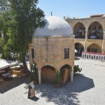 Buyuk Han, Travel to Nicosia in Cyprus, a divided capital.