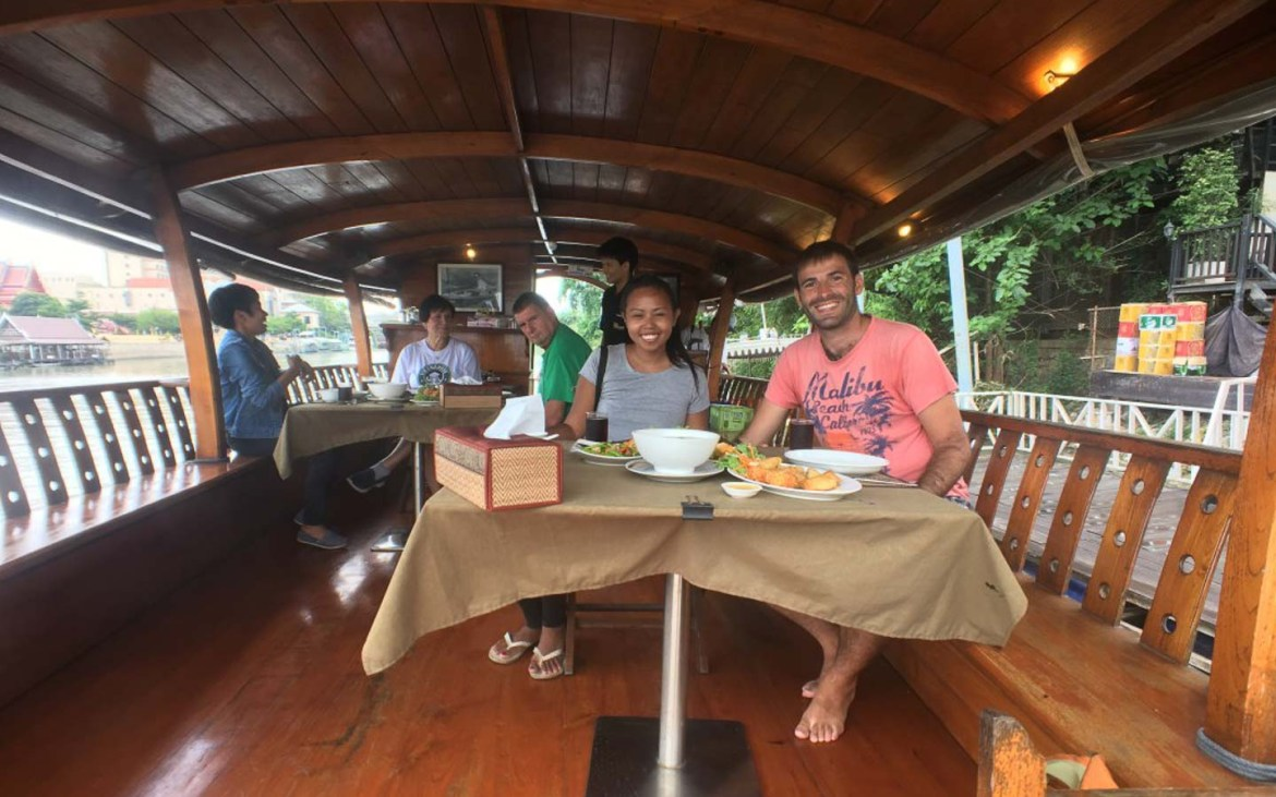 Ayutthaya boat trip - Awesome things to do in Thailand