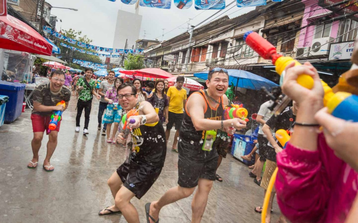 Songkran Festival - Awesome things to do in Thailand