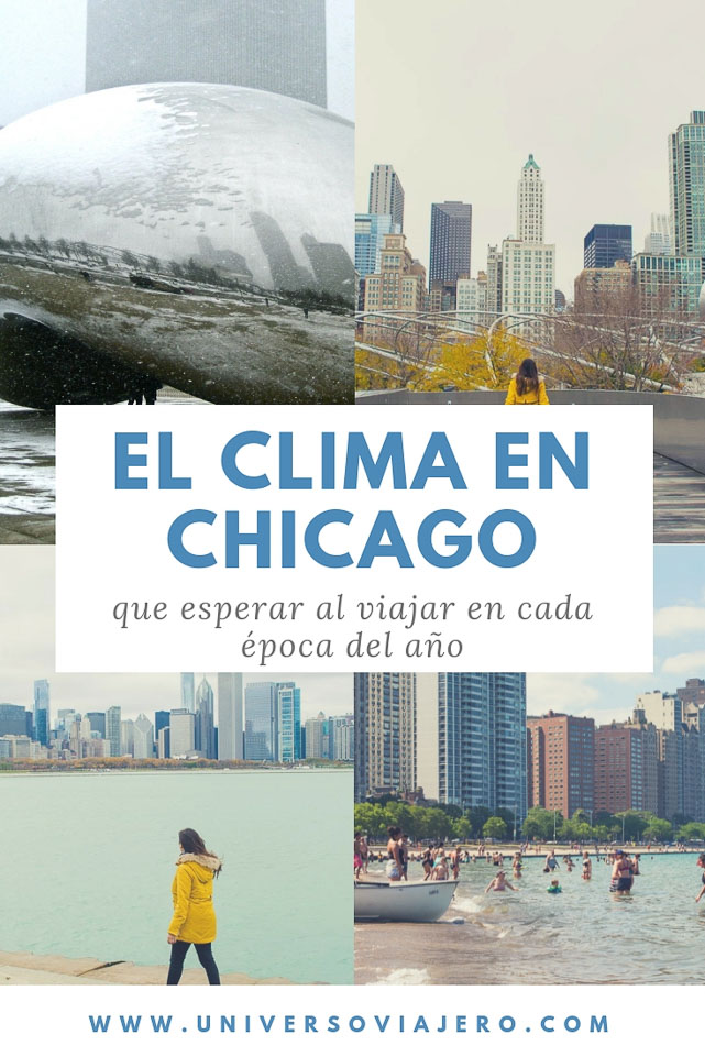 Pinterest clima en Chicago