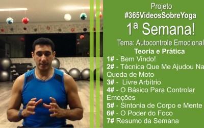 Projeto #365VideosSobreYoga e Qualidade de Vida