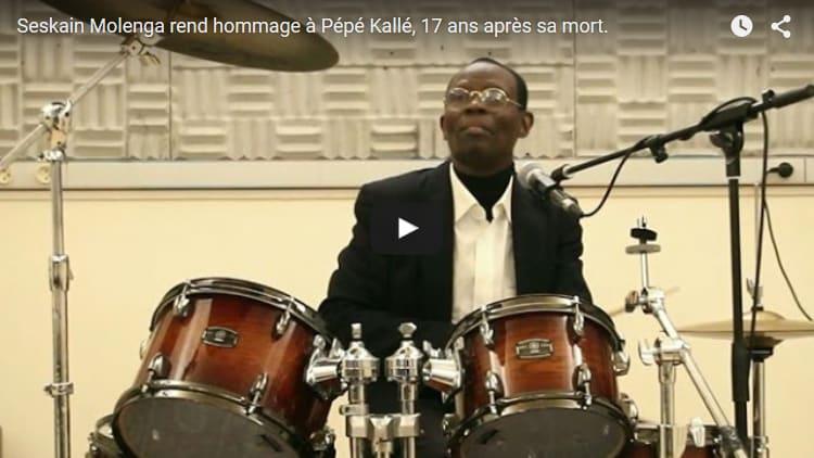 Hommage : Seskain Molenga rend hommage à Pépé Kallé, 17 ans après sa mort.