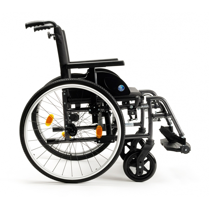fauteuil roulant manuel dossier fixe
