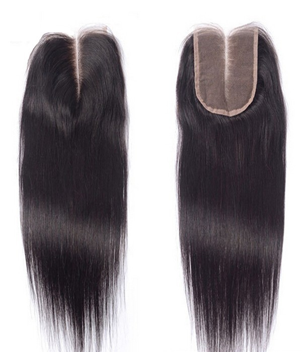 4x4 Natural Straight Brazilian Remy Human Hair Lace