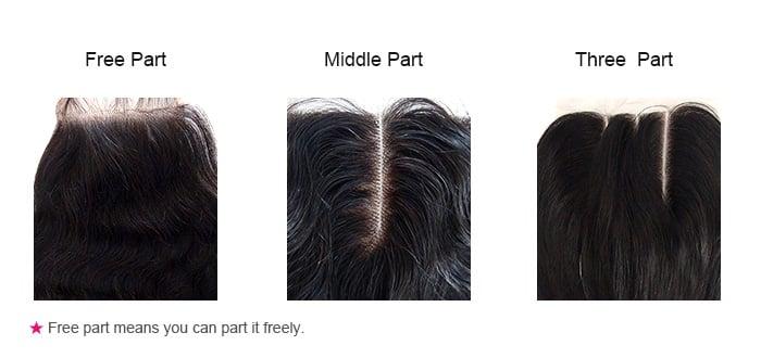 5x5 Yaki Straight Brazilian Remy Human Hair Lace Hair