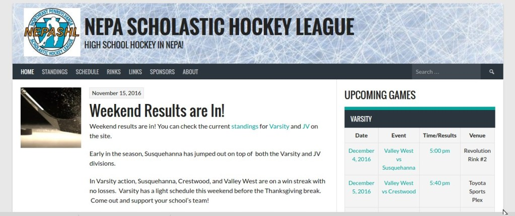 NEPA Scholastic Hockey League