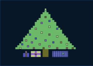 c64 christmas tree