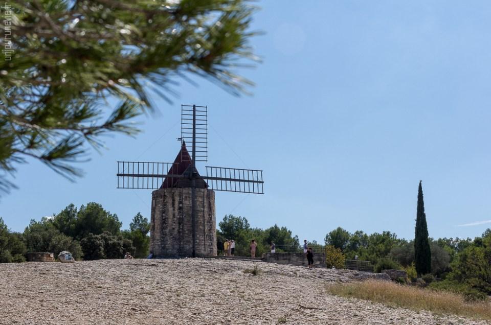 Balade à Fontvieille, sur les traces d'Alphonse  Daudet