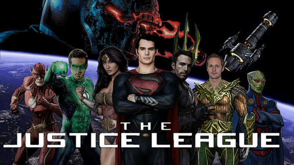 justice league poster by supercasti el d6ukd94 590x331 What If: Wonder Woman Movie Happening; Justice League Cancelled*