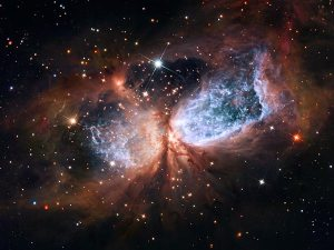 Hubble-Angel wings
