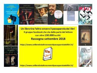 rassegna settembre 2018 Recensioni Libri e News