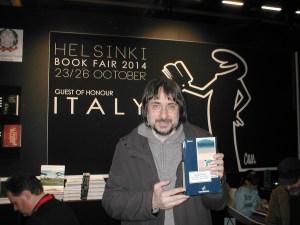 Dario Giansanti (fiera del libro di Helsinki) Vocifuoriscena