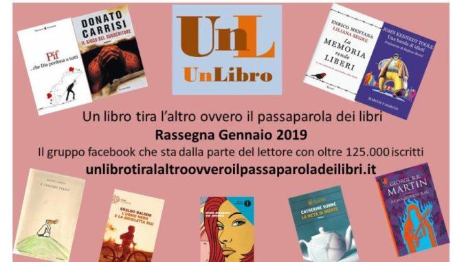rassegna mensile gennaio 2019 Recensioni Libri e News UnLibro