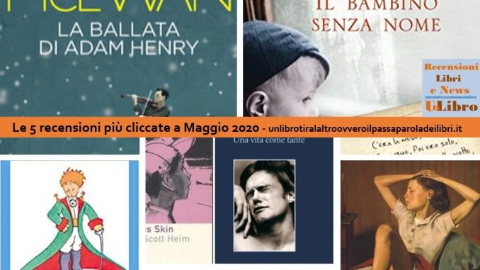 le 5 recensioni più cliccate a Maggio 2020