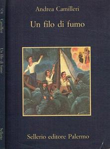 UN FILO DI FUMO Andrea Camilleri Recensioni Libri e News