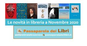 Novità in libreria Novembre 2020