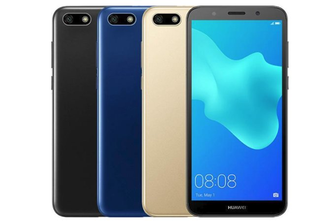 Huawei Y5 Prime 2018 silently unveiled runs Android 8.1 Oreo out of the box - الكشف عن جوال هواوي الجديد Y5 Prime رسميا