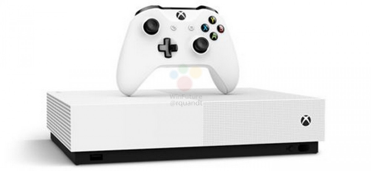 Microsoft -Xbox One S All Digital