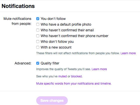screen shot fron twitter