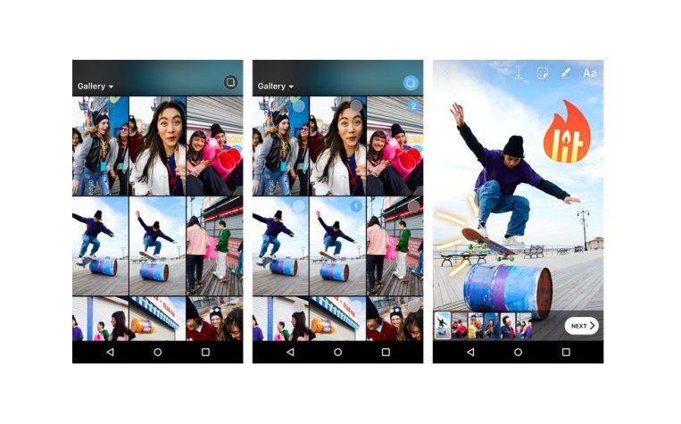 instagram stories main 980x610 - قصص إنستجرام أصبحت تدعم الآن خاصية مشاركه 10 صور أو مقاطع فيديو في الوقت ذاته