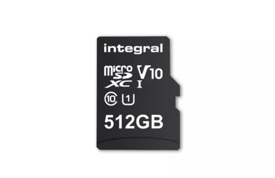 integral 512GB microSD card