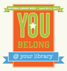 National Library Week, 2012
