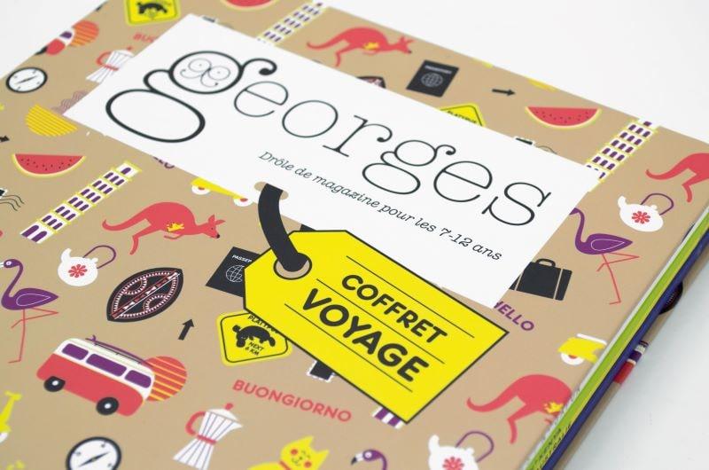 Coffret voyage - magazine Georges