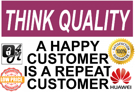 think quality a happy customer small