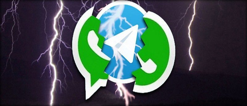 Telegram Vs WhatsApp Featured