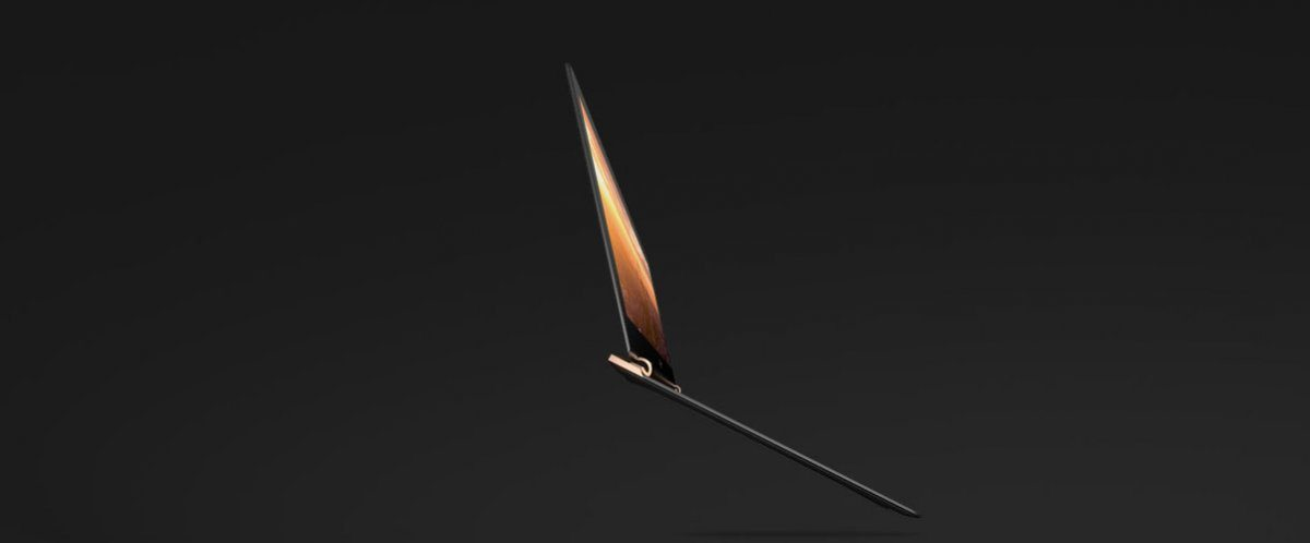 This is the Spectre, HP's gorgeous new laptop.