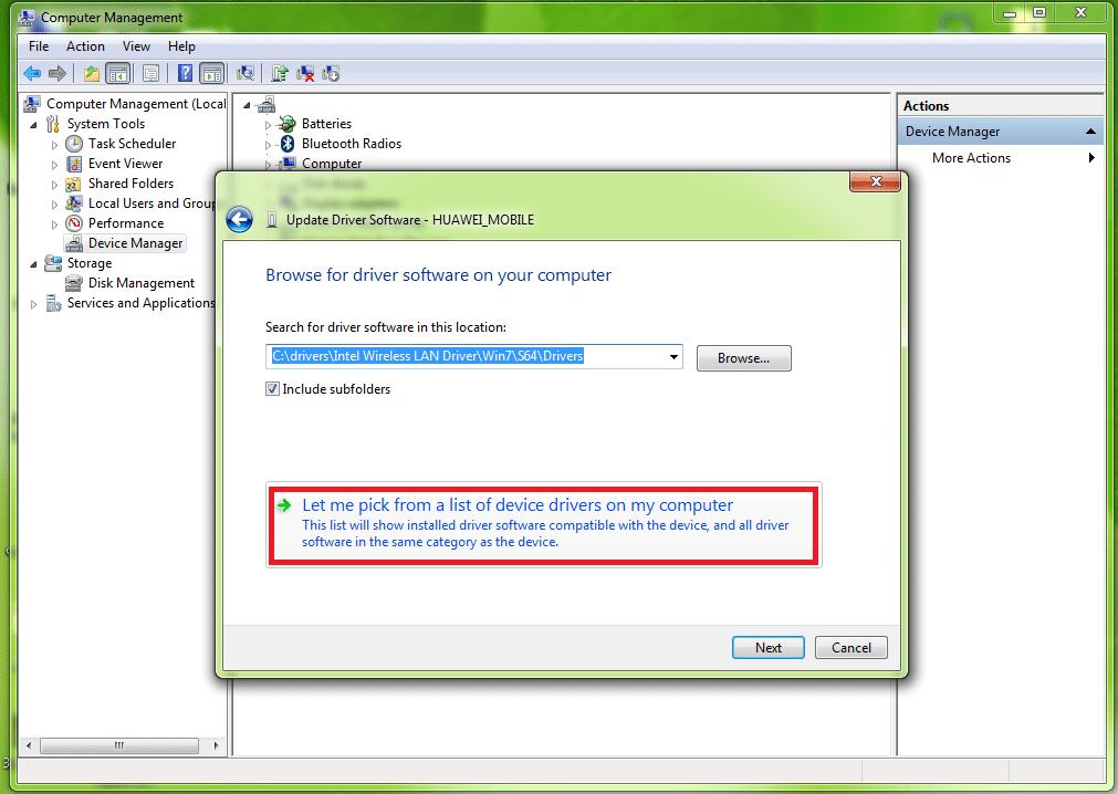 Huawei Hilink Modem COM Port Drivers Installation_4