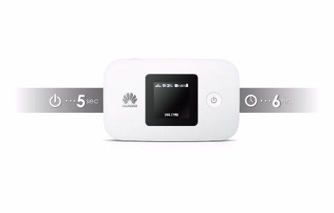 Huawei E5377 4G LTE battery timing